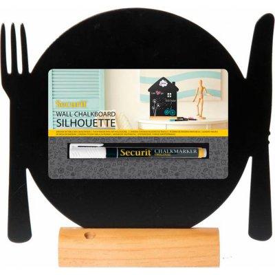 Tischtafel aus Kunststoff mit Sockel
