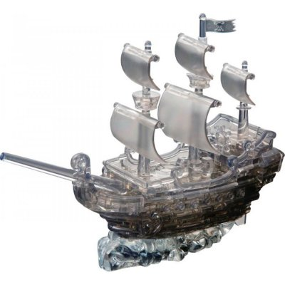 Puzzle 3D-Puzzle Crystal Piratenschiff 101 Teile