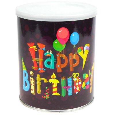 Geschenkdose zum Selbstbefüllen Happy-Birthday
